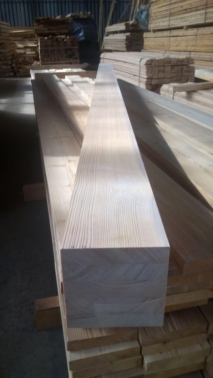 Клееный брус Лиственница  120х120 монтажный брус