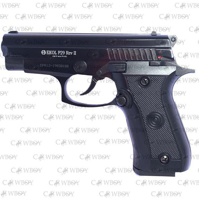 Шумовой пистолет Ekol P-29 Rev-2 Black