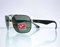 Оптом очки Ray-Ban мужские солнцезащитные - Серебряные - 3483, фото 1