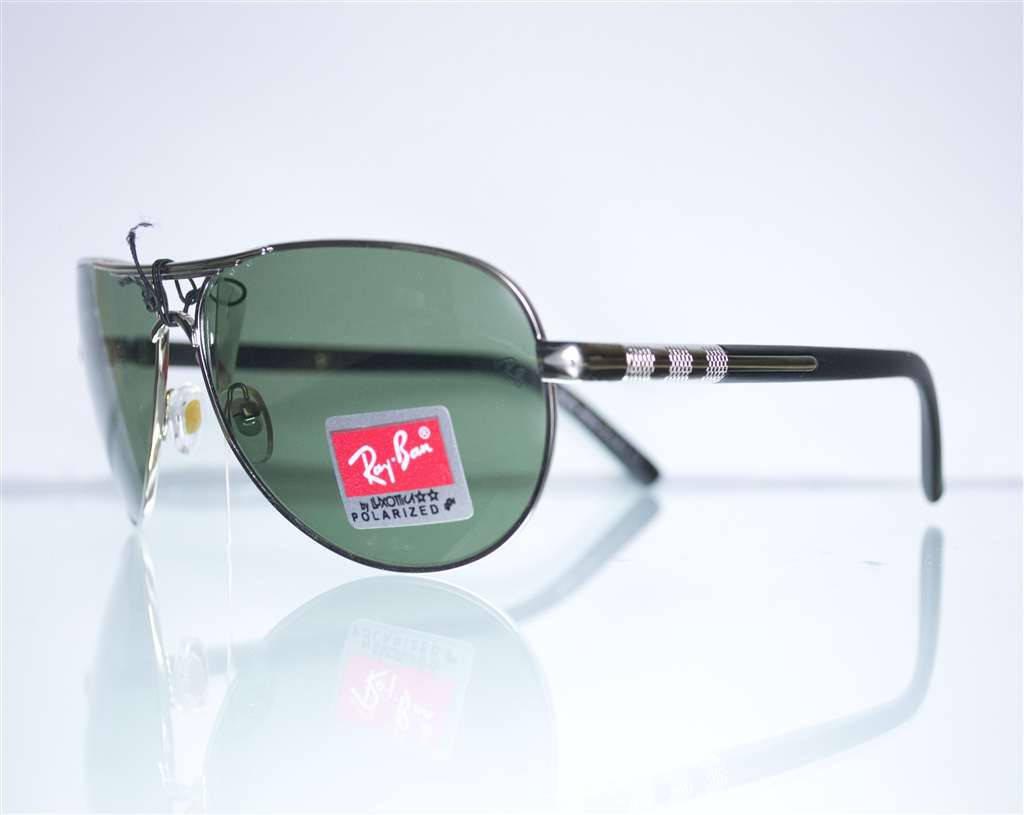 Оптом окуляри Ray-Ban Aviator сонцезахисні - Срібні - 10525, фото 2