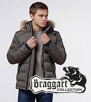 Braggart Aggressive 18540 | Куртка зимняя с опушкой сафари р. 56