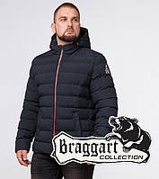 Braggart Aggressive 45115 | Куртка зимняя мужская т.синий-красный р. 46 48 50 52 54 56