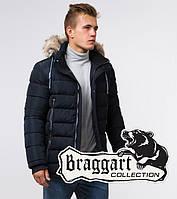 Braggart Aggressive 20128   Мужская зимняя куртка темно-синяя р. 46, фото 1