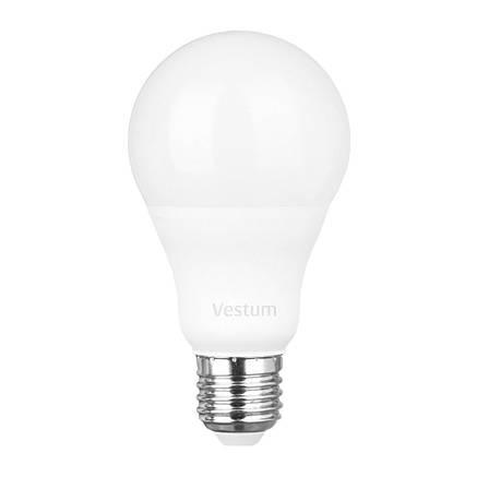Лампа LED Vestum A65 15W 4100K 220V E27, фото 2