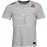 Футболка Reebok UFC Fight Kit Decorated Jersey Chalk - Оригинал