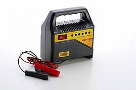Зарядное устройство для авто 4А, 6-12В, до 60Ah (подходит на свинцово-кислотные АКБ) (светодиодный индикатор) СИЛА