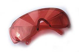 Очки защитные СТАНДАРТ (красные) СИЛА