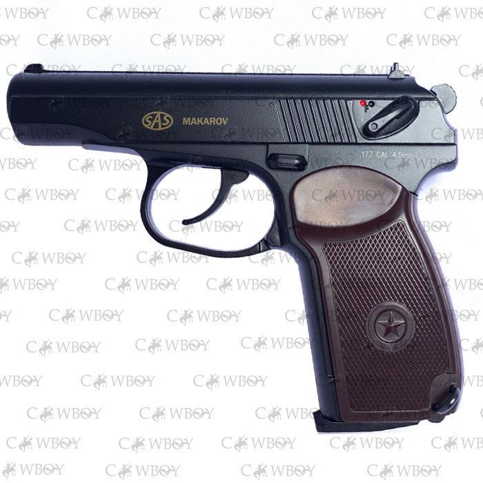 Пневматический пистолет SAS Makarov ПМ