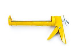 Пистолет для силикона полузакрытый (Стандарт) СИЛА