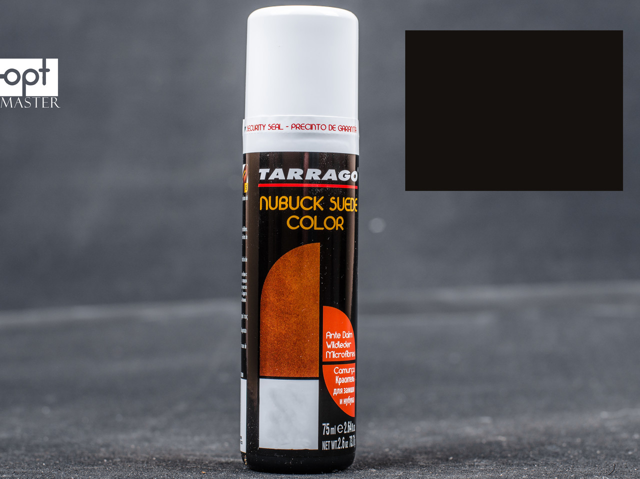 Краска для замши и нубука черная жидкая Tarrago Nubuck Suede Color, 75 мл,TCA18 (18)