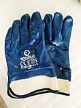 Перчатки (рукавицы) маслостойкие Intertool SP-0001. С нитриловым покрытием, фото 3