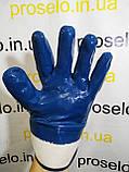 Перчатки (рукавицы) маслостойкие Intertool SP-0001. С нитриловым покрытием, фото 2