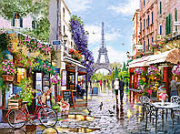 Пазлы Цветущий Париж на 3000 элементов NEW