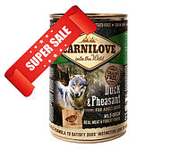 Влажный корм для собак Carnilove Duck & Pheasant 400 г