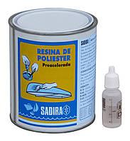 Полиэфирная смола Sadira SH-719 Professional, 1 кг + отвердитель