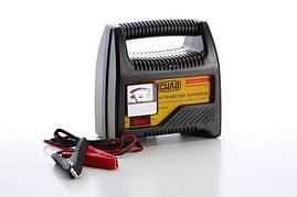 Зарядное устройство для авто 6А, 12В, до 80Ah (подходит на свинцово-кислотные АКБ) (стрелочный индикатор) СИЛА