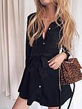 Платье женское нарядное бежевое чёрное молоко, фото 6