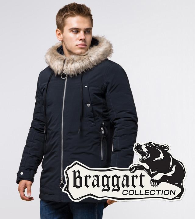 Braggart Arctic 15231   Парка зимняя темно-синяя р. 46 52 54