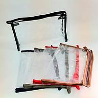 Косметичка женская прозрачная кпх 2 разные цвета, фото 1