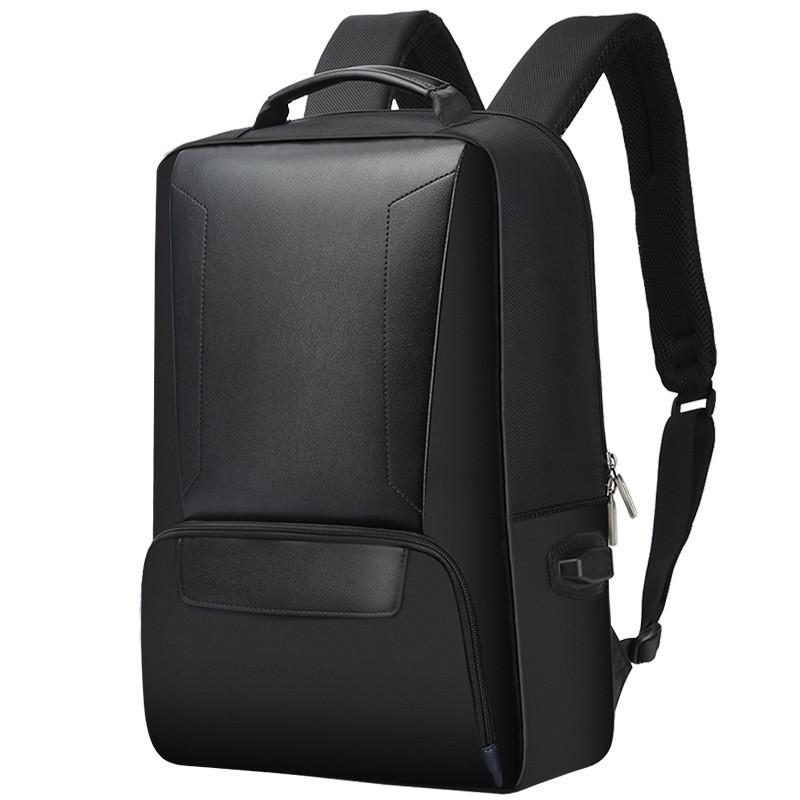 Деловой рюкзак Bopai 751-007101 с USB портом и отделением для ноутбука, черный, 22л
