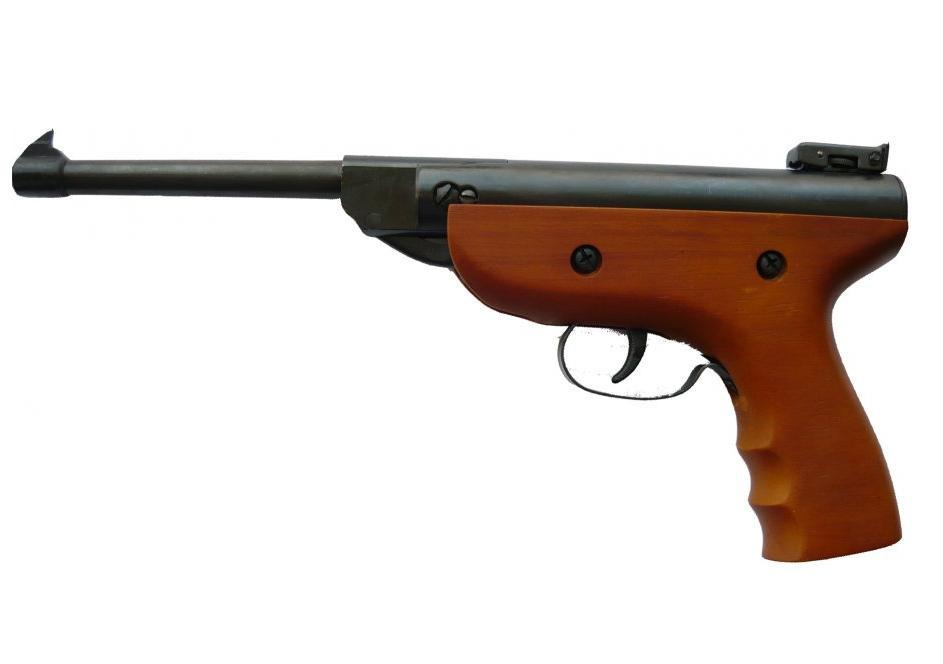 Пневматичний пістолет S-2 Wood 4.5 мм