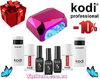 Стартовый набор для маникюра Kodi с лампой Кристалл на 36W