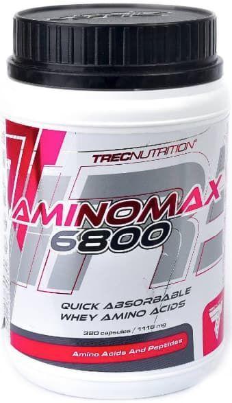 Аминокислоты Trec Nutrition AminoMax 6800 320 caps