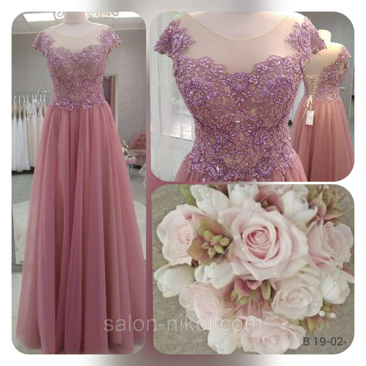Вечернее, выпускное платье B 19-02