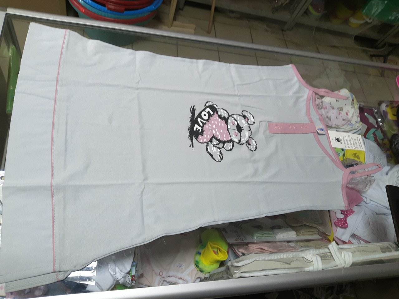 Женская ночная рубашка туника размер 46 48 50 52 54
