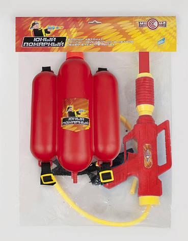 Водный пистолет 2235C (36шт/2) с рюкзаком в пакете 39*21см, фото 2