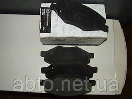"""Колодки гальмівні передні, A11-3501080 Chery Amulet (Чері Амулет), з """"вусиками"""", KӦNNER Корея."""