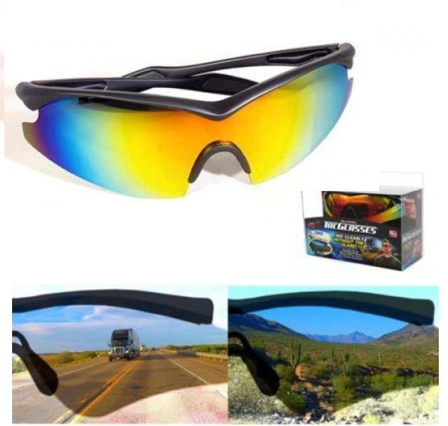 Антибликовые солнцезащитные очки для водителей Tac Glasses