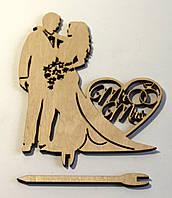 Топпер жених с невестой Kalinin арт 5153