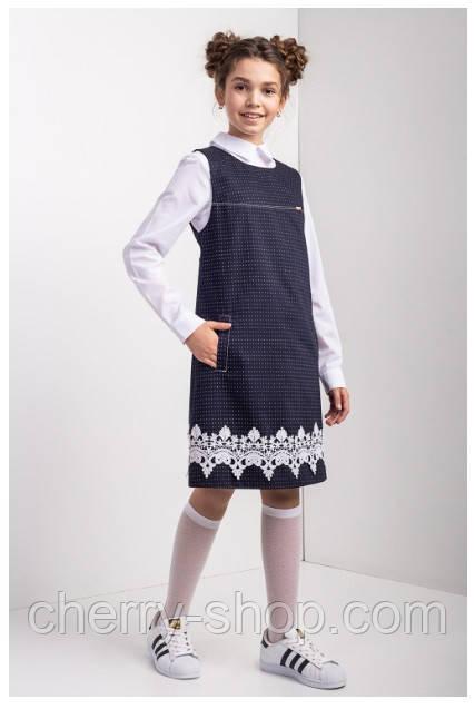 Підліткове шкільне плаття для дівчинки