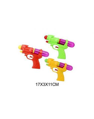 Водяной пистолет 003 (480шт/2) 3 вида в пакете, 17*11*3см, фото 2