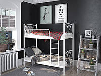 Металлическая двухъярусная кровать Жасмин. ТМ Тенеро