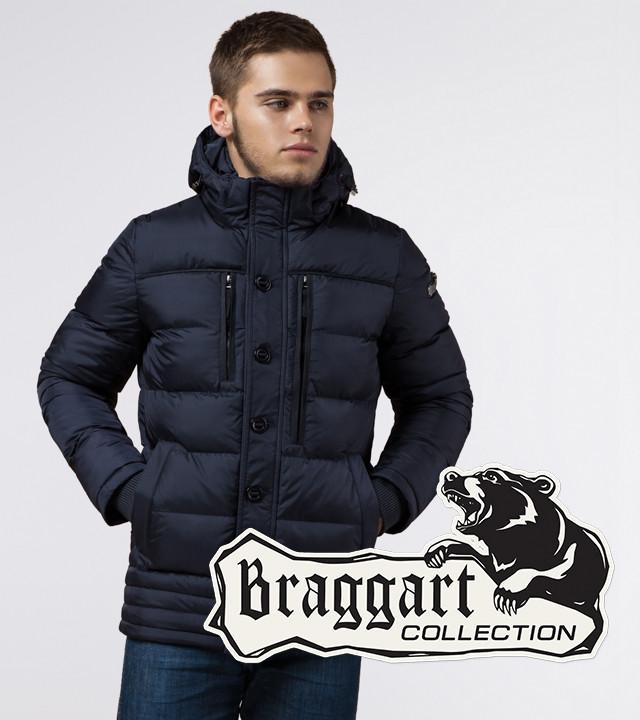 Braggart Dress Code 31610   Зимняя куртка темно-синяя р. 46 52