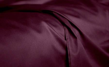 Постельное белье сатин Dark Plum ТМ Moonlight Полуторный, фото 2