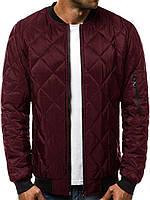 Куртка мужская демисезонная / стеганая осенняя весенняя / красная, фото 1