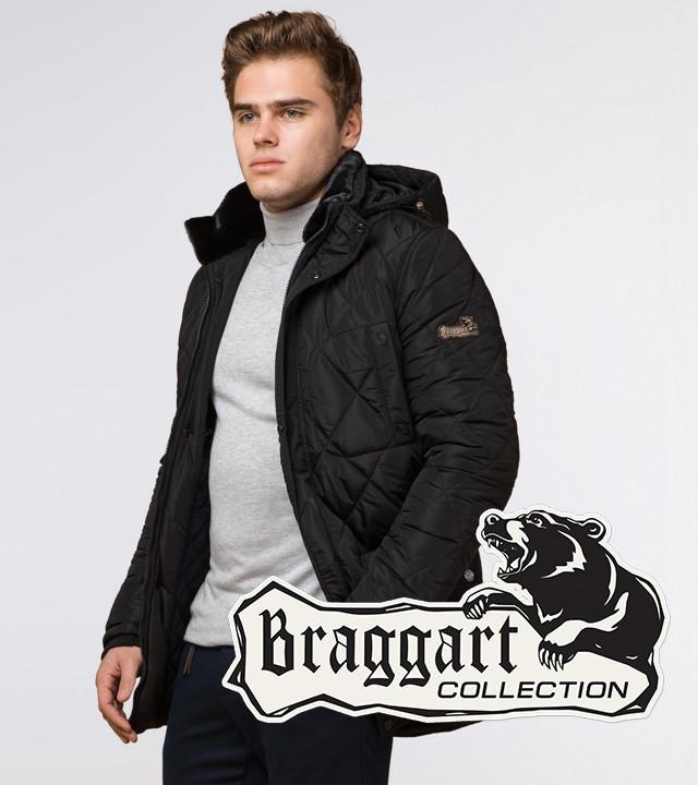 Braggart Dress Code 44842   Куртка мужская зимняя черная р. 46 48 50 52
