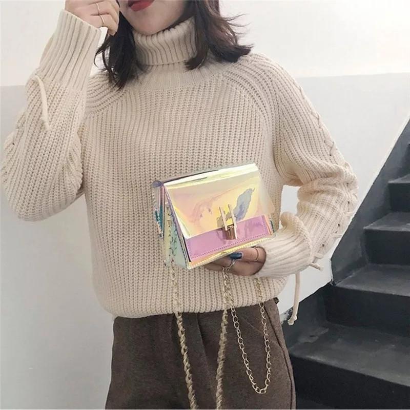 Женская сумочка голограмма через плечо, Жіноча сумка голограммна, Женский клатч