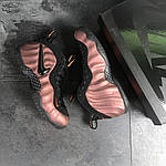 Мужские кроссовки Nike Air Foamposite Pro (черно-медные), фото 5