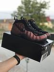 Мужские кроссовки Nike Air Foamposite Pro (черно-медные), фото 6