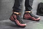 Мужские кроссовки Nike Air Foamposite Pro (черно-медные), фото 8
