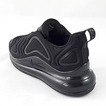 Кроссовки Мужские Nike Air Max 720 Чёрные Найк (размеры: 41,44,45), фото 3