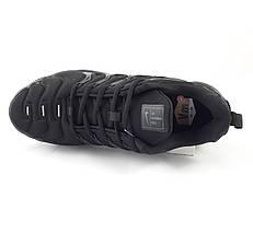 Мужские Кроссовки Nike Air VaporMax Plus Чёрные Найк (размеры: 41,42,44,45,46), фото 3