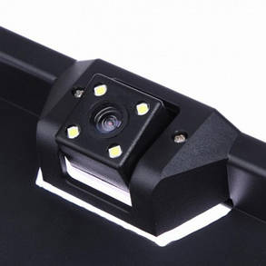 Камера заднего вида в рамке номерного знака с LED подсветкой SmartTech H88 5033, фото 2