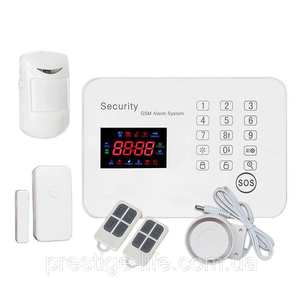 Охранная сигнализация GSM G3
