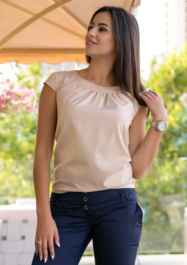 """Летняя блузка с коротким рукавом """"Motylek"""""""