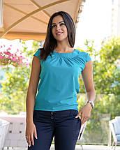 """Летняя блузка с коротким рукавом """"Motylek"""", фото 3"""